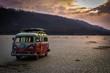Un van à la plage ...