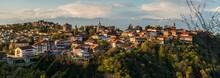 Panorama Miasteczka W Gruzji