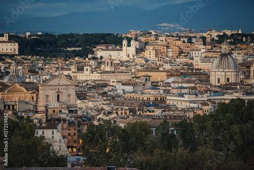 Photo  Rome cityscape