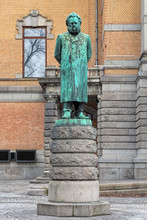Henrik Ibsen Statue In Oslo, N...