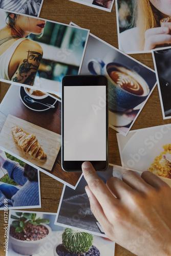 Foto  Photography Picture Imagination Mobile Phone Copy Space Concept