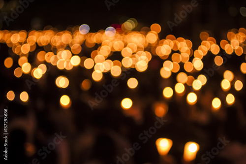 Tianmen Square Candlelight Vigil Canvas Print