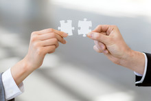 Man And Woman Hand Holding Jig...