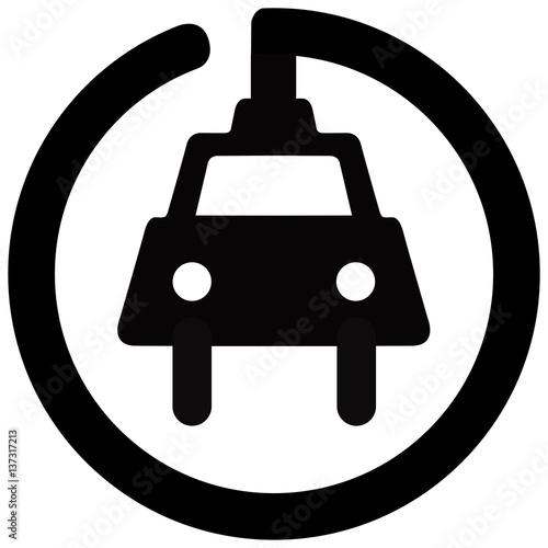 Borne De Recharge >> Panneau Routier Au Quebec Borne De Recharge Pour Vehicules