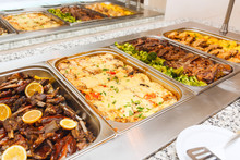 Food Buffet Self Service Lunch Or Dinner