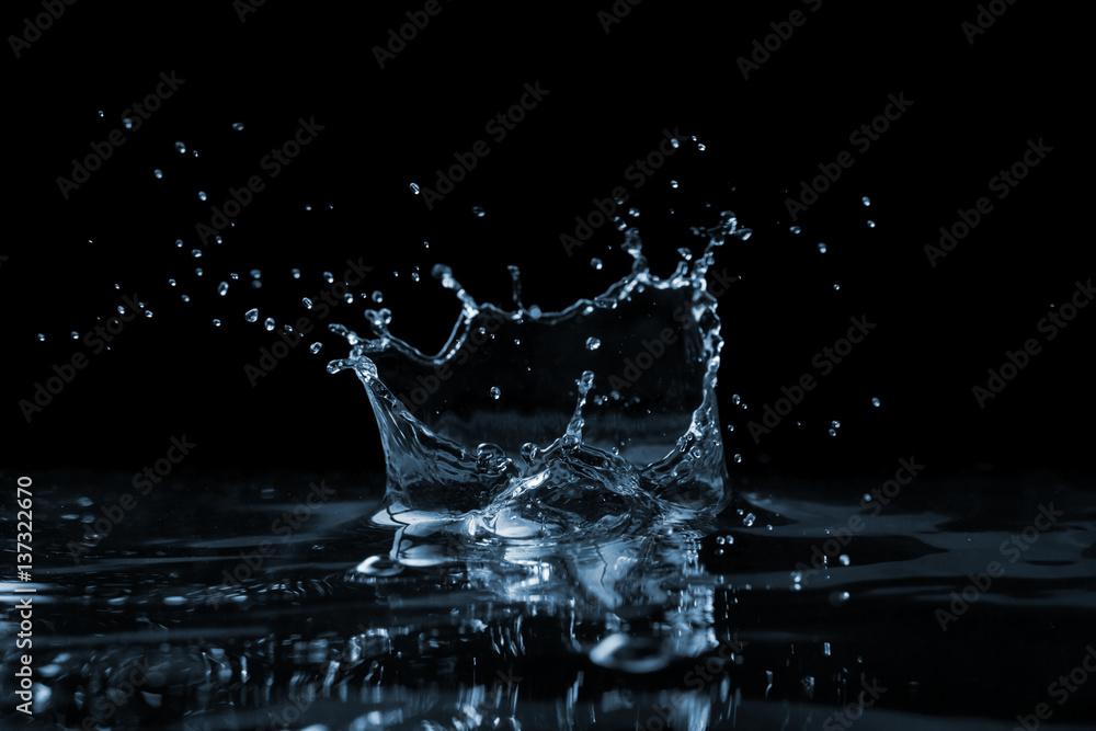 Fototapeta Splash on the water surface