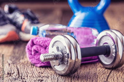 Pinturas sobre lienzo  Fitness Equipment