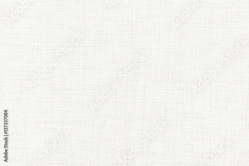 Aluminium Prints Fabric White linen canvas. The background image, texture