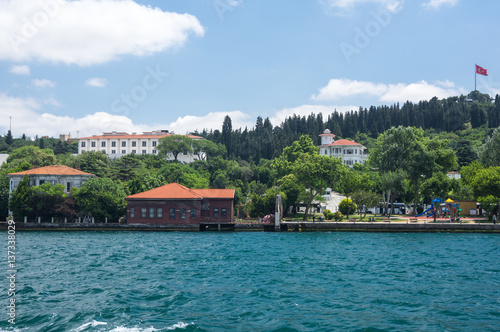 Wall Murals Green coral View of Istanbul