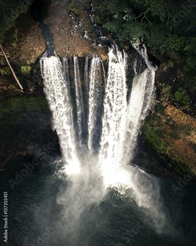 Waterfall, Wailua Falls, Kauai, Hawaii, United States of America - 137355451