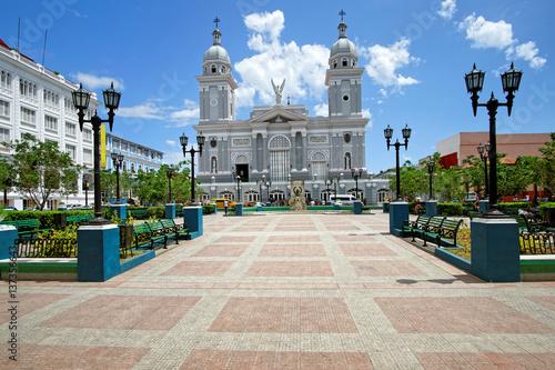 Photo  Kathedrale Santiago de Cuba am Parque Céspedes, Kuba
