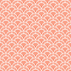 NaklejkaVintage hand drawn art deco pattern