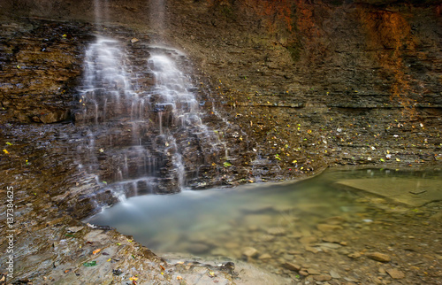 Blue Hen Falls, Cuyahoga Valley National Park Canvas-taulu