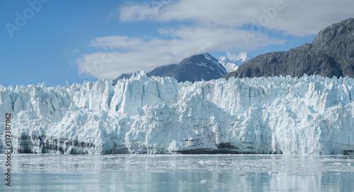Fotobehang Gletsjers Lamplough glacier in glacier bay, Alska