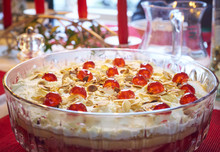 Christmas Trifle With Almonds,...