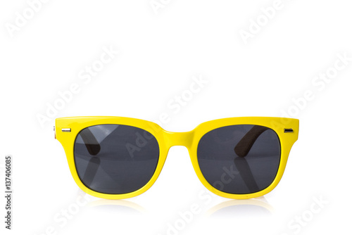 Obraz na plátne sunglasses summer colorful eyewear fashion glasses