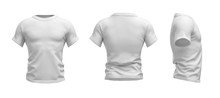 3d Rendering Of A White T-shir...