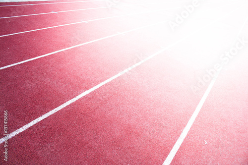 red running track background light to victory buy this stock