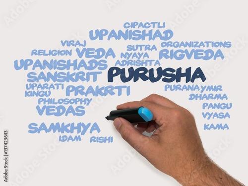 Fotografie, Obraz  Purusha