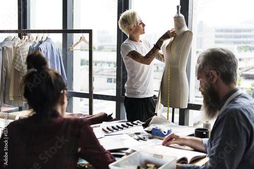 Fototapeta  Fashion Design Mannequin Measurement Concept