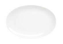 Oval Plain White Platter