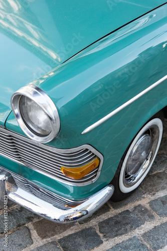 Valokuva  Scheinwerfer Opel Rekord