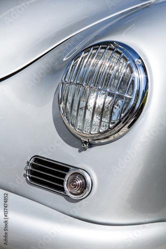 Valokuvatapetti Scheinwerfer Porsche 356