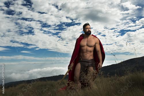 Fotografie, Obraz  Gladiador