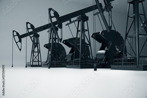 Fototapeta Petrol concept obraz na płótnie