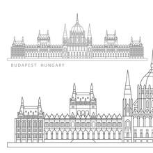 Hungarian Parliament Building....