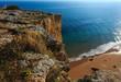 Praia da Afurada (Algarve, Portugal).