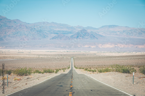 Poster Road in Death Valley National Park, California