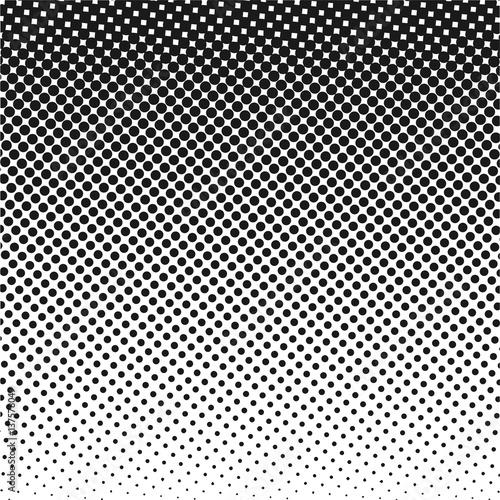 stock vector halftone dots pattern black dots on white background rh stock adobe com vector halftone dot pattern vector halftone brush