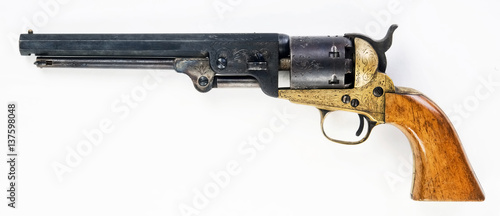 Old Cowboy Pistol. Canvas-taulu