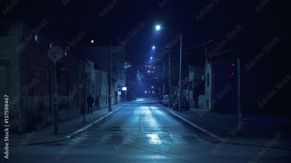 Fototapety, obrazy: Small Balkan Town Street