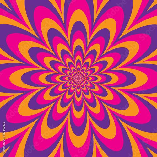 Infinite Flower Fototapet