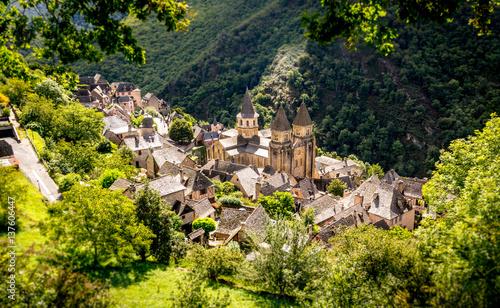 Fotografía Village médiéval de Conques, Aveyron