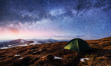 The Starry Sky Above The Tent ...