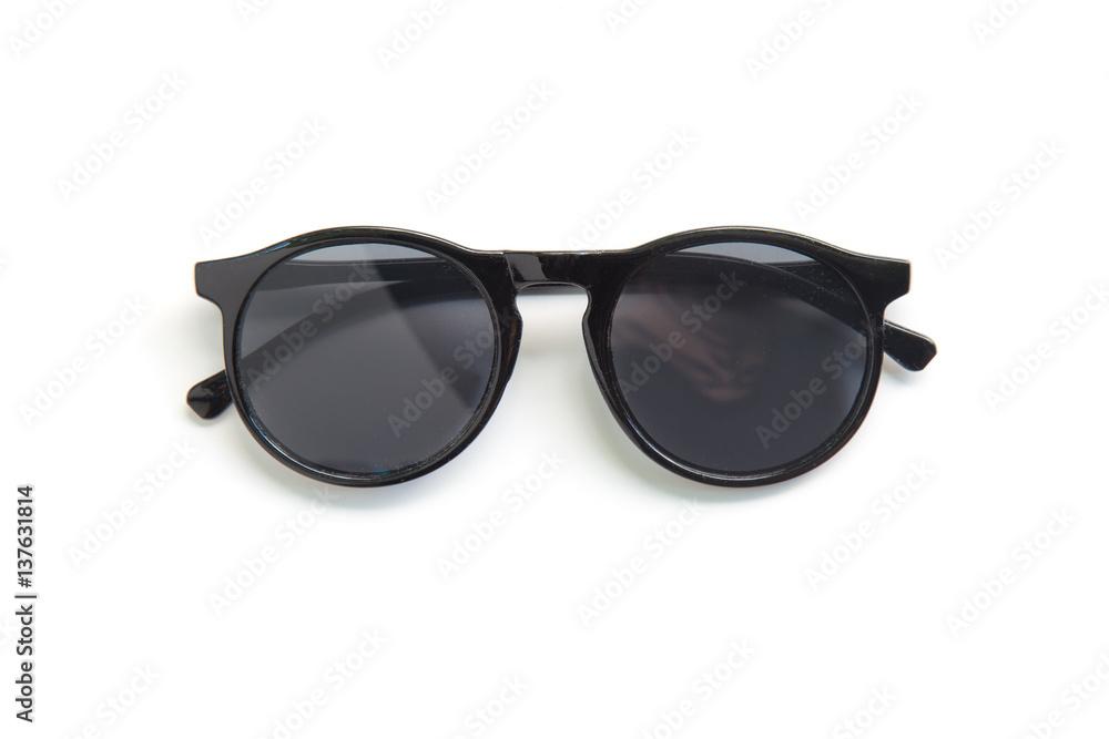 Fototapeta Sunglasses isolated on white background.