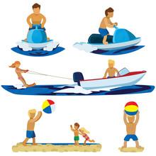 Summer Beach Activities Includ...