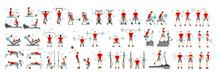 Men Workout Set. All Kinds Of ...
