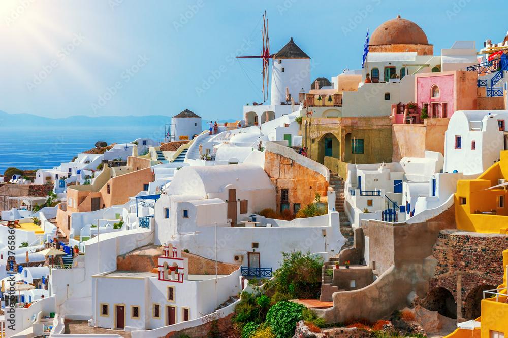 Fototapety, obrazy: Oia, Santorini Island, Greece
