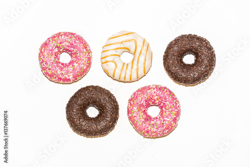 Photo  Olympic donuts