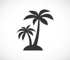 ikona otoka palme