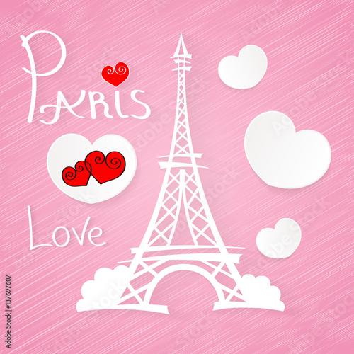 Miłość romantyczna Paryż