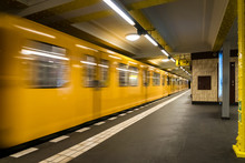 Berlin Subway Metro Undergroun...