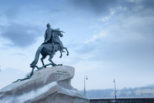 Peter I Monument In St. Petersburg, Russia