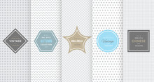 Light Grey Seamless Patterns F...