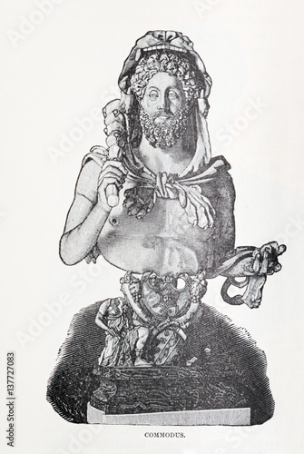 commodus illustration Poster