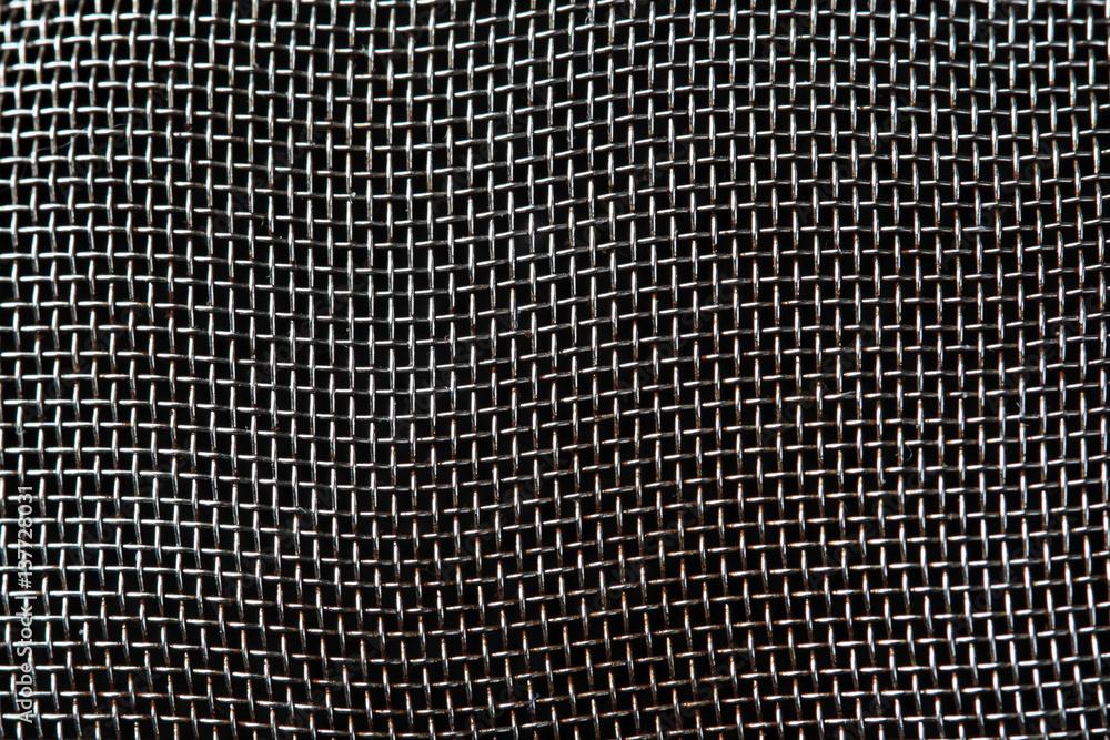 Fototapety, obrazy: Silver Mesh Background